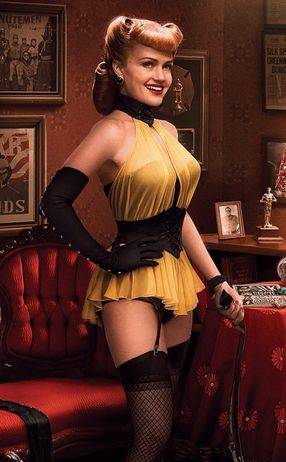 Carla Gugino as Sally Jupiter / Silk Spectre