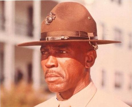 Louis Gossett Jr. in An Officer and A Gentleman