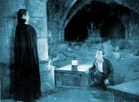 "Bela Lugosi and Dwight Frye in ""Dracula"" (1931)"