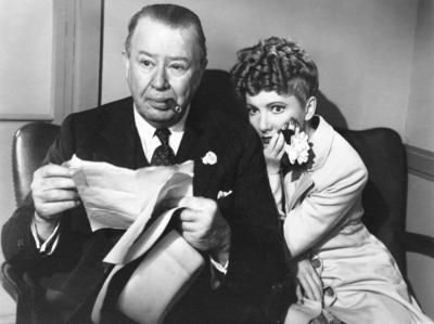 Charles Coburn and Jean Arthur in The More the Merrier