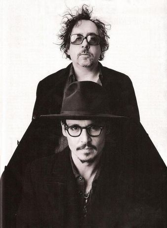 Johnny Depp Tim Burton. Tim Burton and Johnny Depp