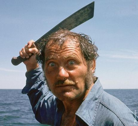 Robert Shaw from Jaws