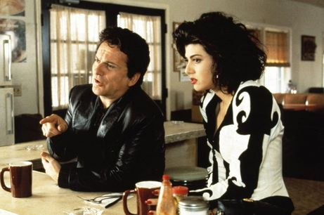 Joe Pesci and Marisa Tomei