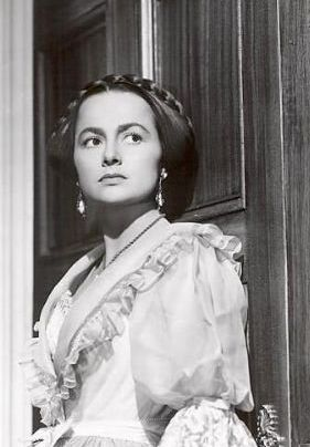 Olivia de Havilland in The HeiressOlivia De Havilland The Heiress