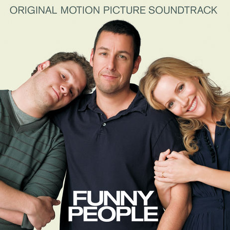 funny people soundtrack. soundtrack cover art