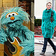 Fashion Faux Pas: Sharon Stone Wears Muppet Fur Coat