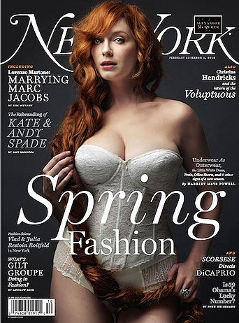 christina hendricks weight. Christina Hendricks Talks