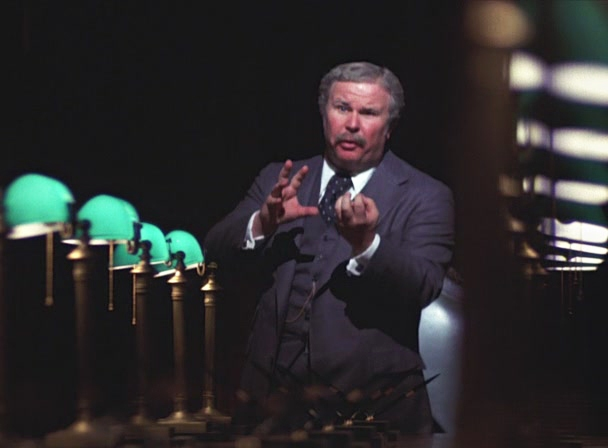 Ned Beatty in Network