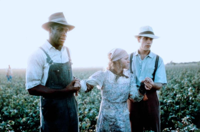 Danny Glover, Sally Field & John Malkovich in Places in the Heart