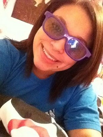 justin bieber purple glasses 2011. my purple 3D glasses