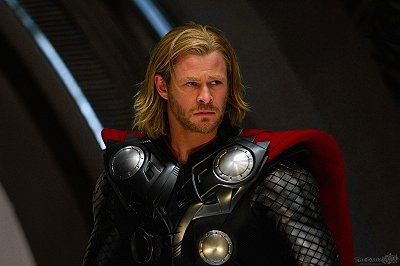 Thor with Worried Look