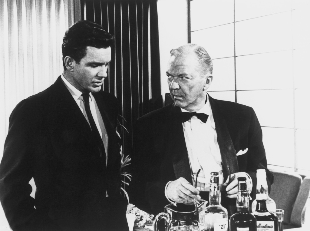 Cliff Robertson & Lee Tracy in The Best Man