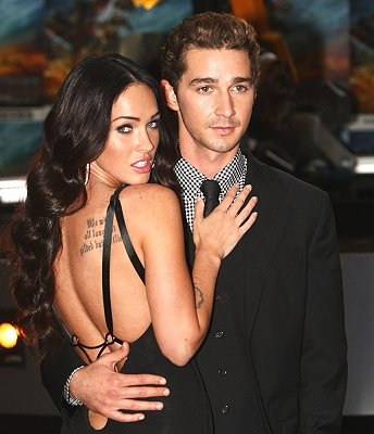 Shia LaBeouf: Megan Fox Uncomfortable With Sex Symbol Status Unlike Rosie ...