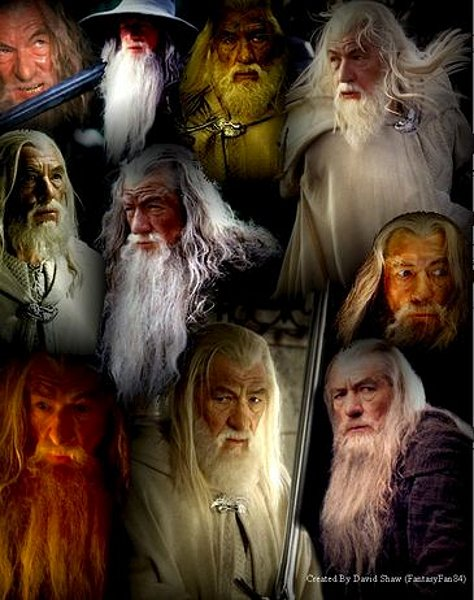 My Gandalf Collage