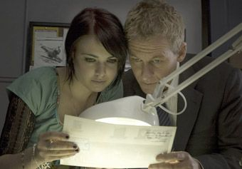 Emily Barclay and Richard Roxburgh