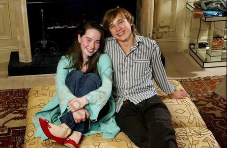 william moseley and anna popplewell. Anna Popplewell and William