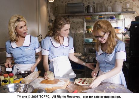 Cheryl Hines, Keri Russell, and Adrienne Shelly in WAITRESS