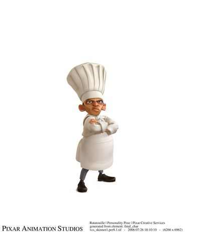 Skinner in RATATOUILLE