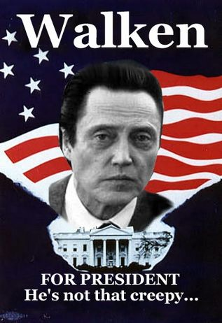 christopher walken for president