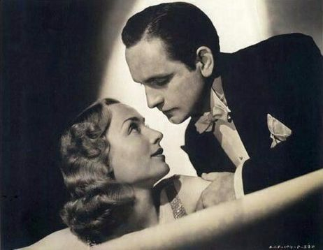 Fredric March and Carol Lombard