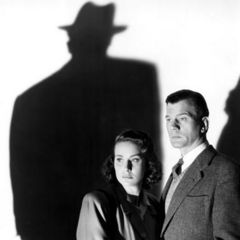 Joseph Cotten and Alida Valli