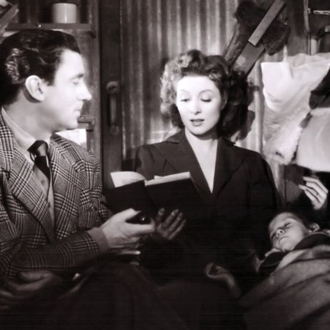 Walter Pidgeon and Greer Garson
