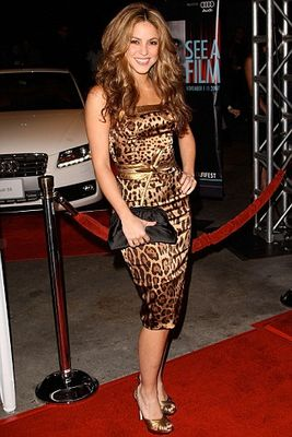Leopard Dress on Who Has The Most Beautiful Leopard Dress