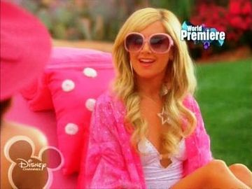 High School Musical Characters-Sharpay Evans 7
