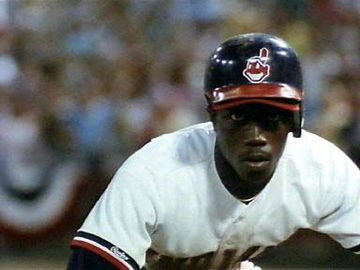 Wesley Snipes as Willie Mays Hayes in Major League.
