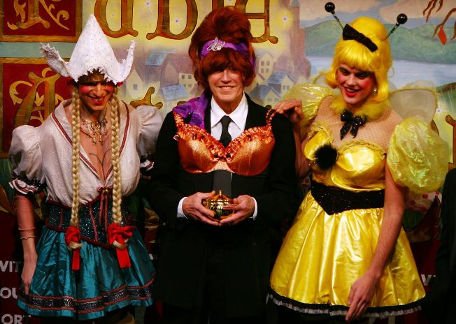 Christopher Walken is Honored as Harvard University's Hasty Pudding Club's 2008 Man of the Year