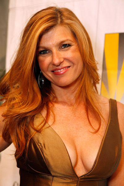 connie britton glam cleavage