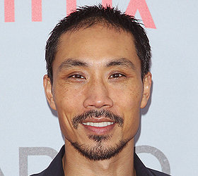 The 45-year old son of father (?) and mother(?), 175 cm tall Tom Wu in 2018 photo
